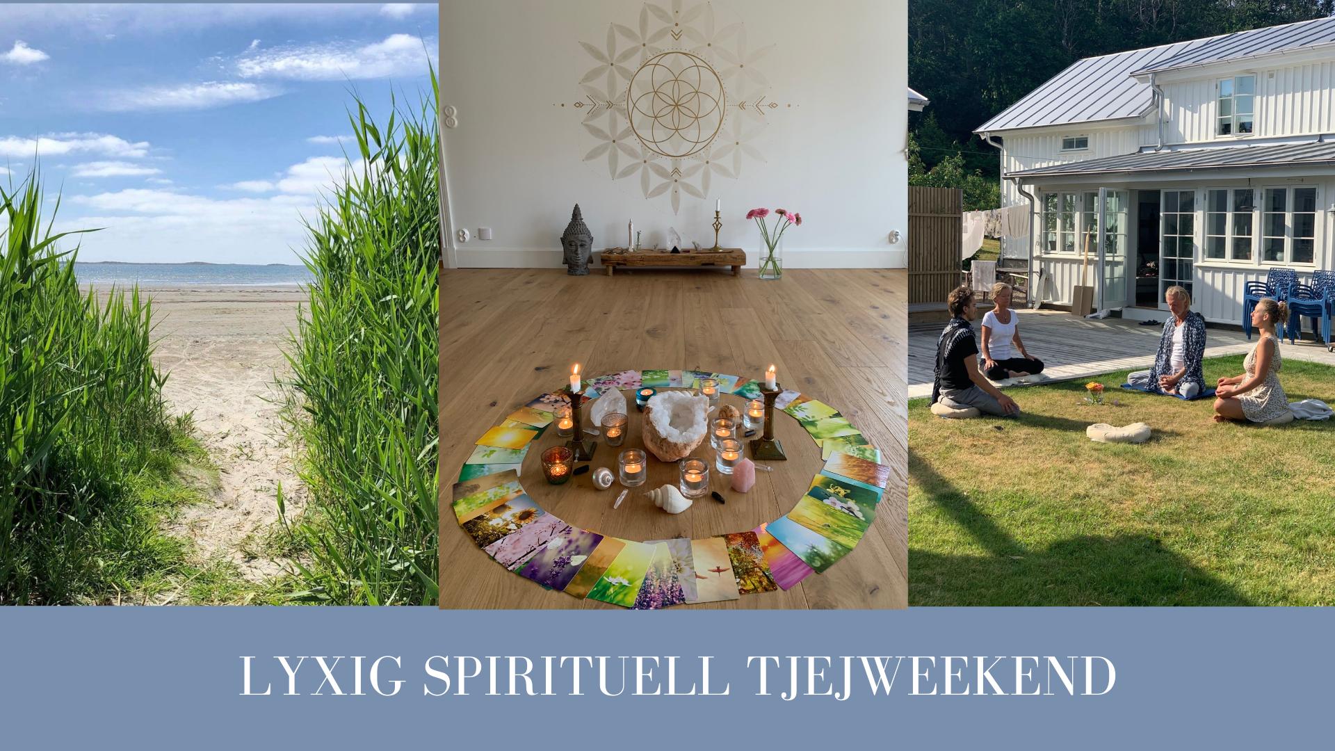 Lyxig spirituell tjejweekend