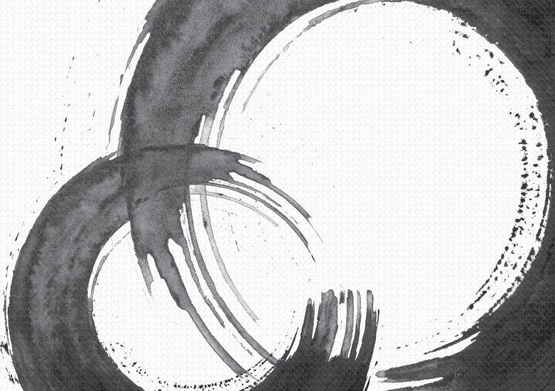 A עיגולים שחור לבן
