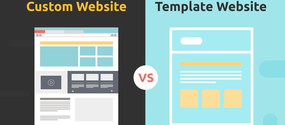 Custom Website vs. Template Website by Best Digital Marketing Agency, Absolute Digital