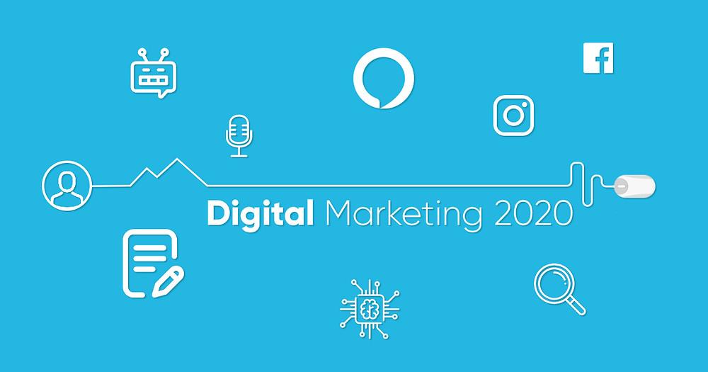 Digital Marketing in 2020, Summary by Absolute Digital