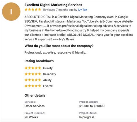SEO Agency Absolute Digital