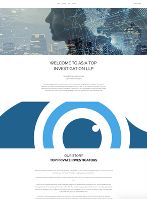 Absolute Digital   Web Design for Asia Top Investigation