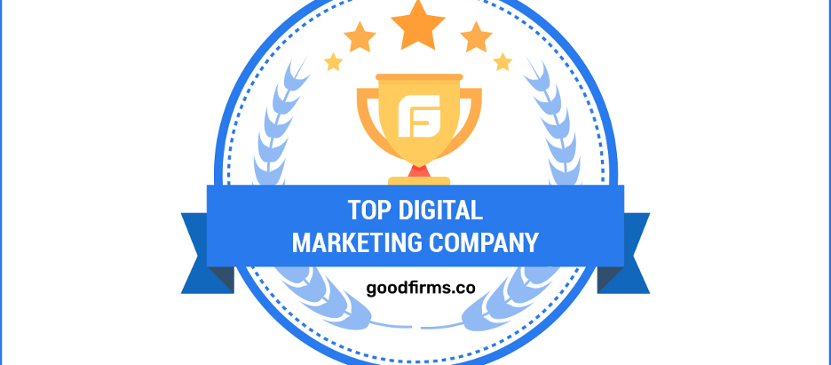 Top Digital Marketing Agency in 2020 by GoodFirms