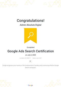 Absolute Digital Google SEO Google SEM Digital Marketing Agency in Singapore