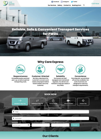 Absolute Digital   Web Design for Care Express Services