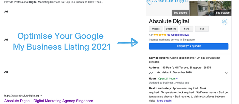 How To Optimise Google My Business Listing in 2021