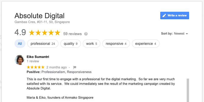 Advice From Singapore Digital Marketing Agency | Absolute Digital Singapore Top Google SEO Agency 🏆