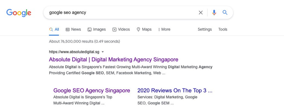 SEO Agency: 2021 Google SEO Hacks