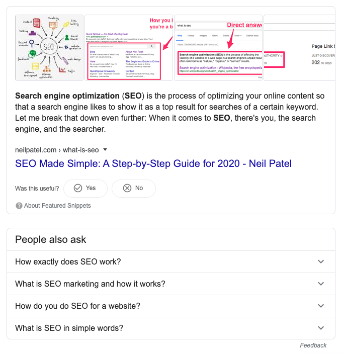 Google Featured Snippets Absolute Digital