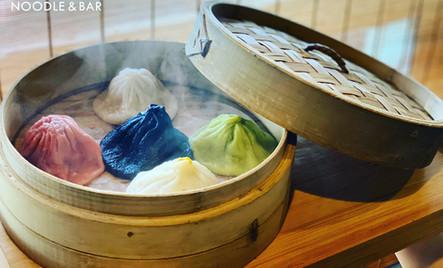 Y Rainbow Soup Dumplings