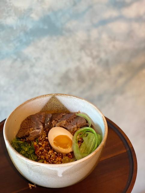 Stewed Beef Hiyashi