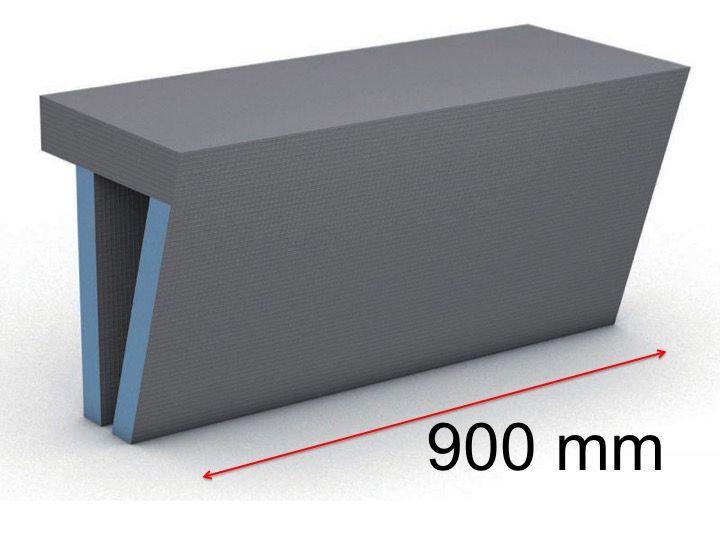 ספסל למקלחון WEDI 1200/380/454 mm