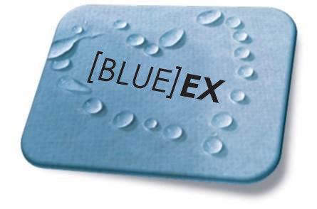 לוח חוץ אורבונד בלו אקס (כחול) עובי 12.5