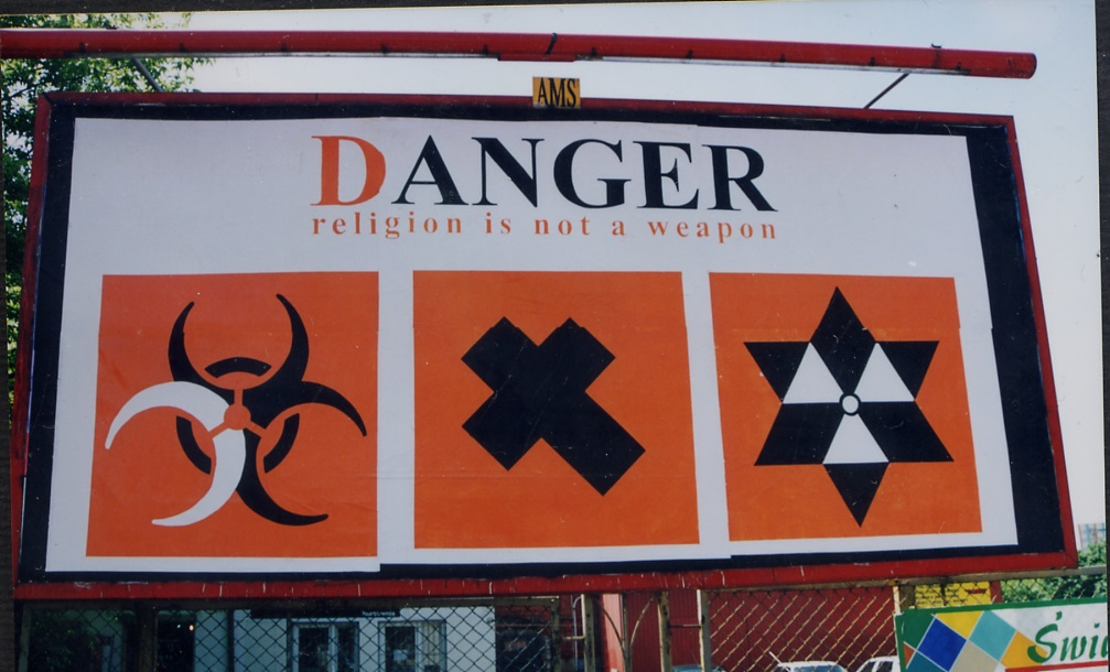 Twożywo - Danger! Religion is not a