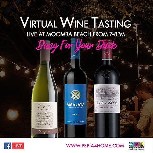 Virtual Wine Tasting - Bang For Your Buck