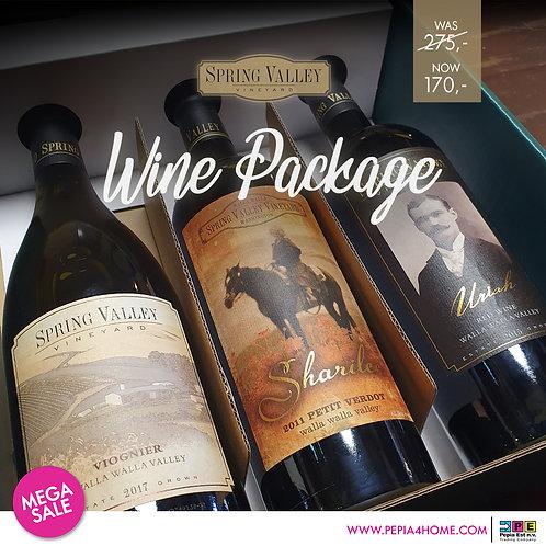 Spring Valley Wine Package