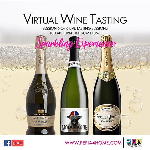 Virtual Wine Tasting - Sparkling Experience