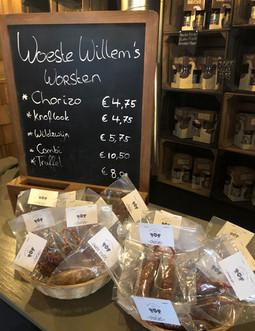 Woeste Willem worsten