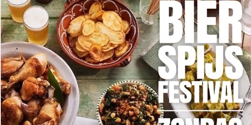 Bier en Spijsfestival zondag 26 januari