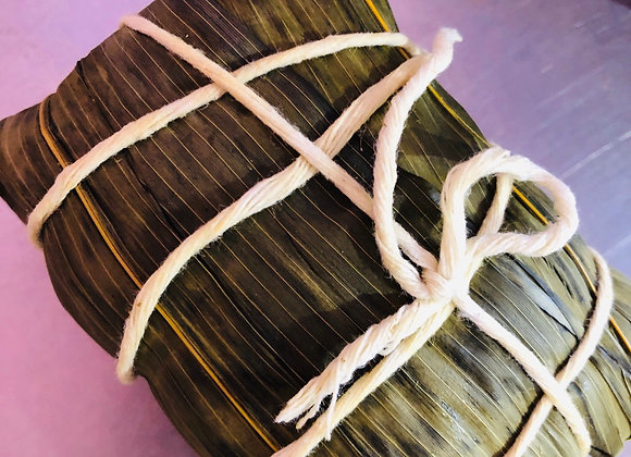 Bean paste reed 豆沙粽