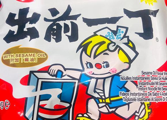 Noodles with hemp flavor出前一丁 麻味面/包