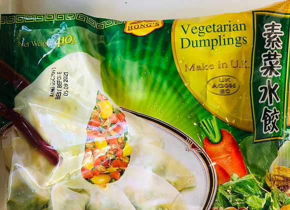 Hung character element dumplings鸿字素水饺