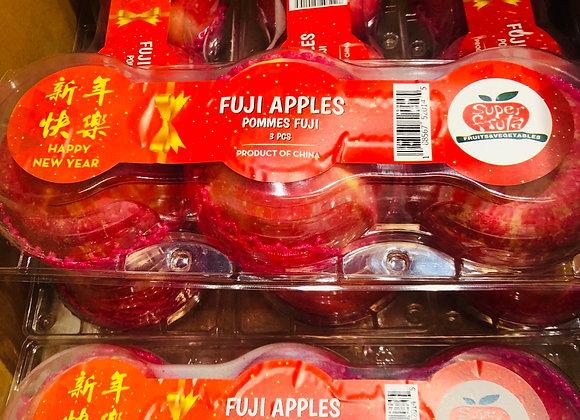 Fuji apple大富士苹果/3个