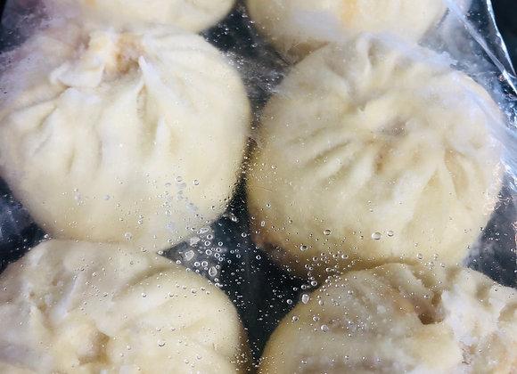 Pork bun with shredded radish猪肉萝卜丝大包/6个