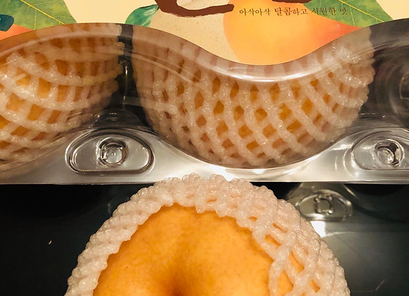 Korean pear韩国梨/3个