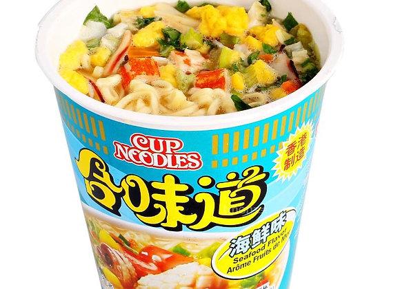It tastes like seafood合味道海鲜味/杯