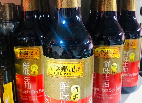 Lee kum kee umami light soy sauce李锦记鲜味生抽/500ml