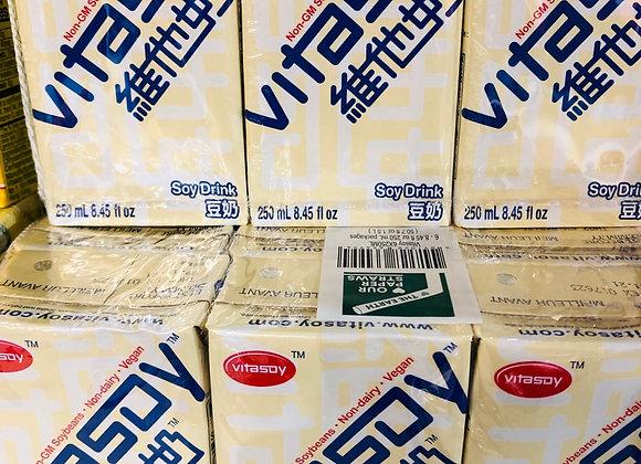 Vitasoy milk维他豆奶/*6