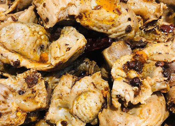 Spicy chicken gizzard卤香辣鸡胗(中辣)
