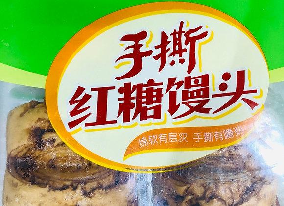 Anjing brand hand tear brown sugar steamed bread安井牌手撕红糖馒头