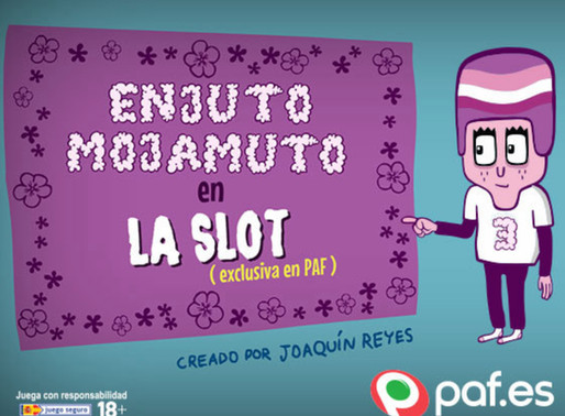 New Paf Studio Game: Spanish Slot, Enjuto Mojamuto