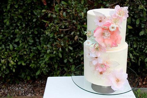 Custom 45cm cake flowers garland