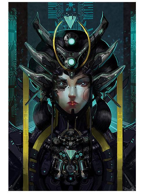 A.I. Queen Print
