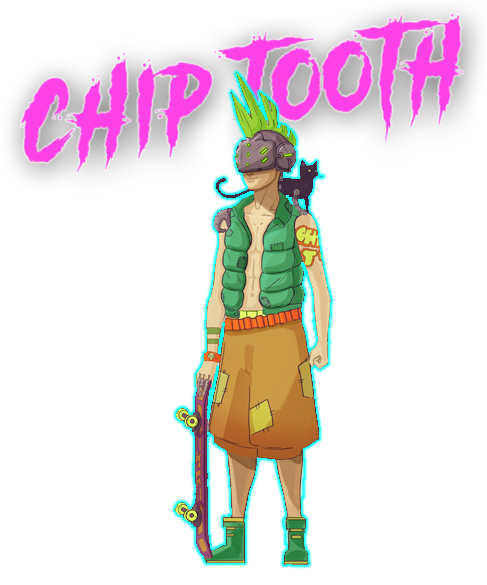Neon Wasteland - Chip Tooth