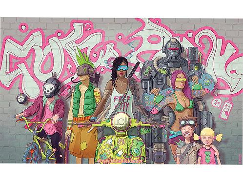 Gutter Punks Print