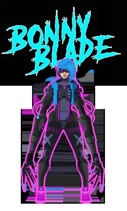 Neon Wasteland - Bonny Blade