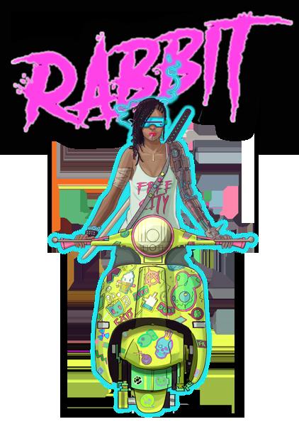 Neon Wasteland - Rabbit