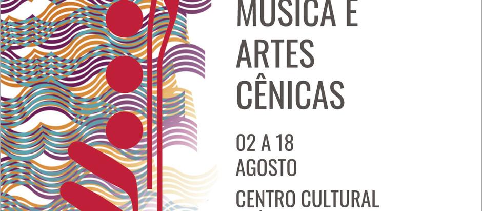 """Vermelhos anuncia festival """"Vermelhos 2019 - Música e Artes Cênicas"""" em agosto."""