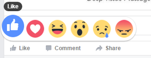 facebook reactions like