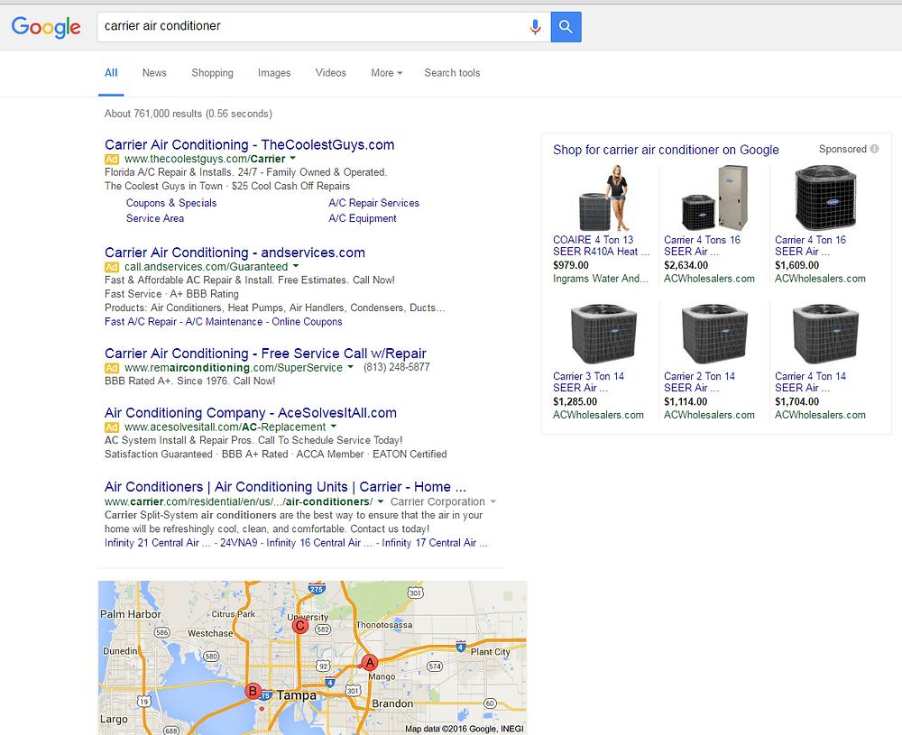 paid-search-layout-impact-organic-SEO