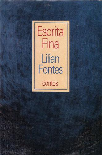 LIVRO - Escrita Fina, contos
