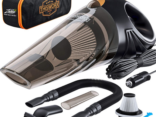 Amazon Automotive Accessory Category Bestseller #1 Portable Car Vacuum Cleaner