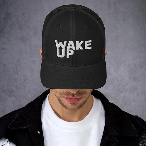 Trucker Cap Wake Up