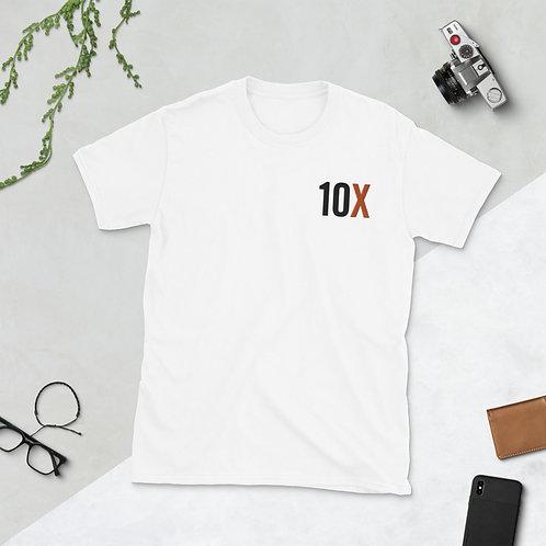 Short-Sleeve Unisex T-Shirt 10X Orange