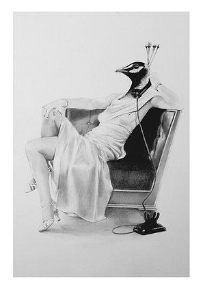 Femme Fatale A4 Print
