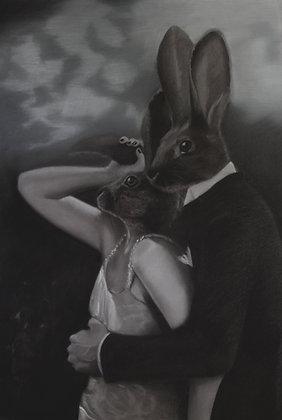 Lunae Lumen Lepus (Moonlight Hare)